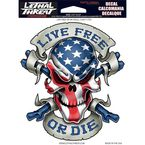 Live Free or Die Decal Set - LT88061