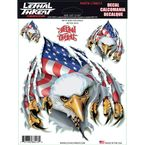 Rip Tear USA Eagle Decal Set - LT88213