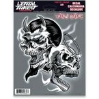 Evil N Good Skull Decal Set - LT90689