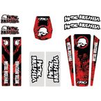 Honda Metal Mulisha Decal Trim Kit - 16-50360
