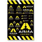 Arma Logo Decal Sheet - 00510