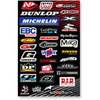 Large Logo Sticker Sheet - N30-1041