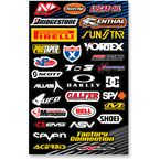 Large Logo Sticker Sheet - N30-1043