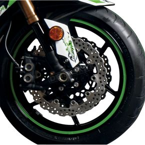Face Lift Unlimited Sport Bike Green Wheel Trim Decal Kit - 60605