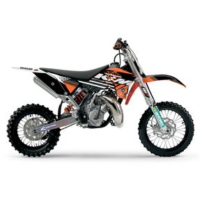 Face Lift Unlimited 2011 Factory KTM Team Graphics Kit w/Seat Cover - 70231