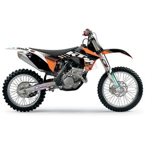 Face Lift Unlimited 2011 Factory KTM Team Graphics Kit w/Seat Cover - 70227