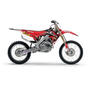 FLU Designs Inc. 2012 Par Honda Team Graphics Kit - 70044