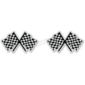 Z1R Reflective Checkered Flag Sticker - 109680