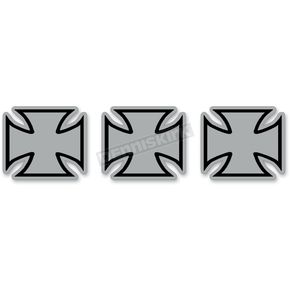 Z1R Reflective Iron Cross Sticker - 109673