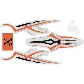 Stickerpoint X Flag Power Sticker - 810605