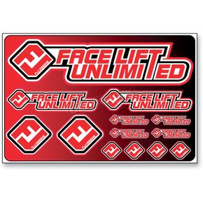 Face Lift Unlimited Universal FLU Logo Sticker Kit - 00601