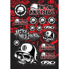 Metal Mulisha Sticker Kit - 14-68050