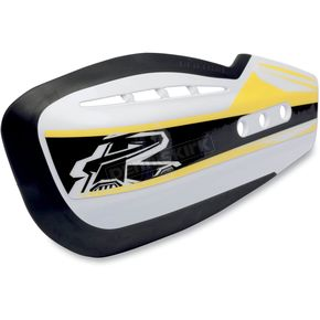 Renthal Yellow Moto Handguard Sticker Kit - HG-100-GK-YE