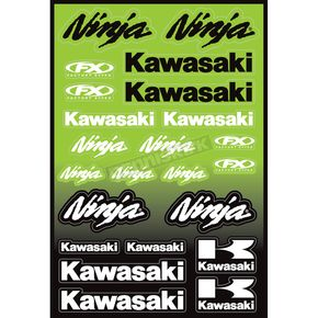 Factory Effex Ninja Sticker Sheet - 15-68100