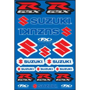 Factory Effex GSX-R Sticker Sheet - 15-68400