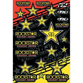 Factory Effex Rockstar Sticker Sheet - 15-68702