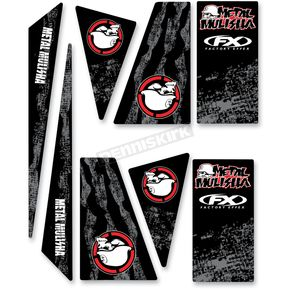 Factory Effex ATV Metal Mulisha Decal Trim Kit - 16-50020