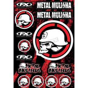 Metal Mulisha Sticker Sheet - 16-68052