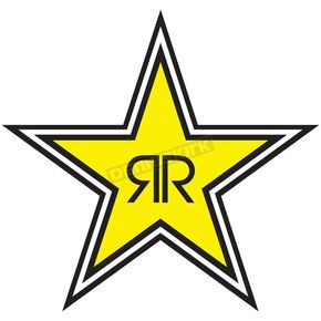 Rockstar Star Logo Sticker - 15-94730