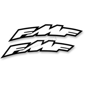 FMF Large Arch FMF Logo Fender Sticker  - 010603