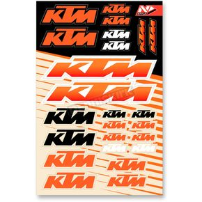 N-Style Universal KTM Sticker Kit - N30-1051