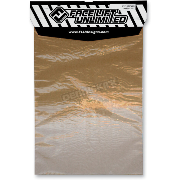 FLU Designs Universal Clear Vinyl Sheet - 00900