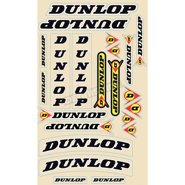 N-Style Dunlop Sticker Kit - N30-1007