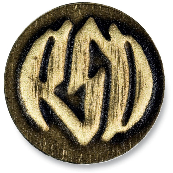 Roland Sands Design Brass RSD Badge w/Logo - 0208-2067