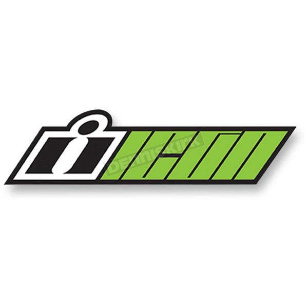 Icon Green Double Up Slant 4 Pack Decals  - 4320-1553
