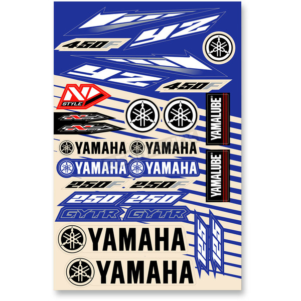 N-Style Universal Yamaha Sticker Kit - N30-1048