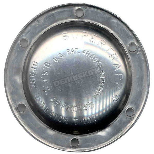Supertrapp Stock Replacement Stainless Steel End Cap for 4 in. Systems - 406-3046
