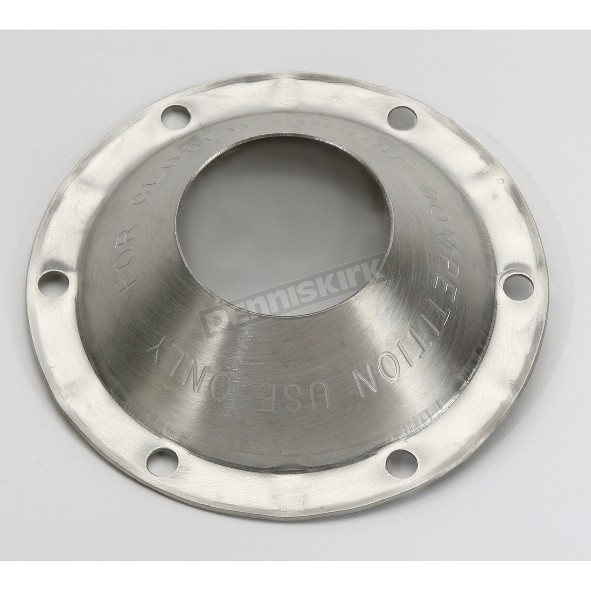 Supertrapp stainless open end cap for in external disc