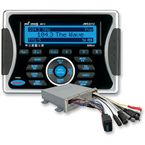 Waterproof AM/FM/iPod®  /iPhone® and Sirius-Ready Stereo w/USB Input and NOAA Weatherband - JMS2212