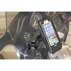 Black iPhone 5 5S Case and Metal Handlebar Mount - PS-IP5M