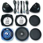 Rokker™ XT Saddlebag Subwoofer Speaker Kit - HSWR-7252-XTC