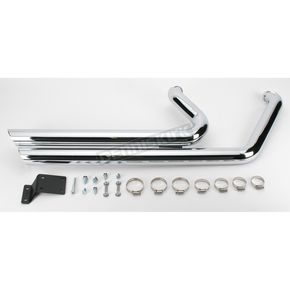 Python Staggered Duals Exhaust System - 1800-0469