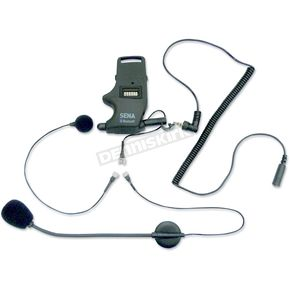 Sena SMH10 Helmet Clamp Kit for Earbuds with Wired and Boom Mic - SMH-A304