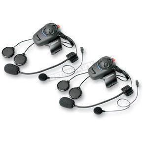 Sena Sena SMH-5 Bluetooth Headset/Intercoms w/ Boom Microphones - SMH5D-01