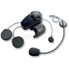 Sena SMH-10 Single Unit Bluetooth Stereo Headset/Intercom w/ Universal Microphone - SMH10-11