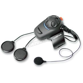 Sena Sena SMH-5 Bluetooth Headset/Intercom w/ Wired Microphone for Full Face Helmets - SMH5-02
