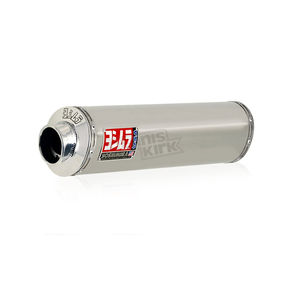 Yoshimura RS-3 Oval Race Slip-On with Polished Stainless Steel Muffler Sleeve - 1126255