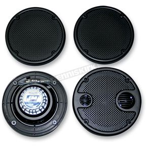 J&M Corporation 5 1/4 in. Rear Fairing Speakers - HURK-5252GTMXTC