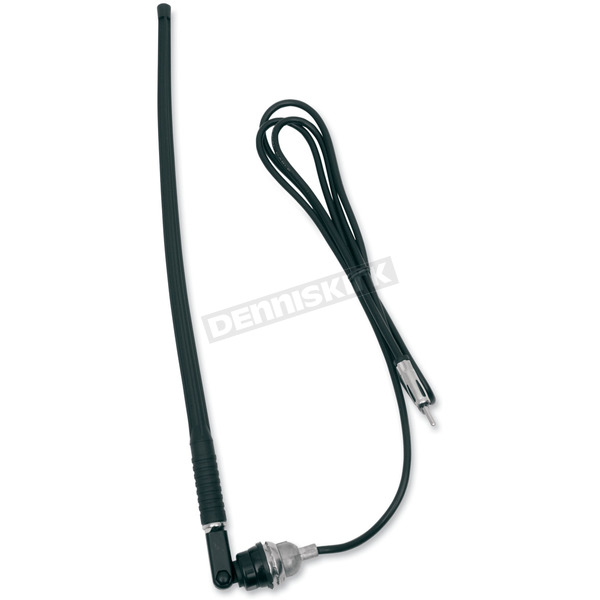 Jensen Top/Side Mount Rubber-Mast Antenna with Cable - 1181039