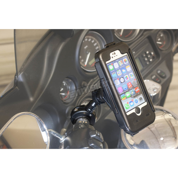 Phoneshield Black iPhone 5 5S Case and Metal Handlebar Mount - PS-IP5M