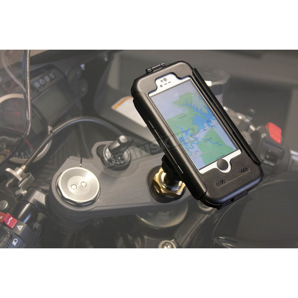 Phoneshield Black iPhone 5 5S Case and Stem Mount - PS-IP5S