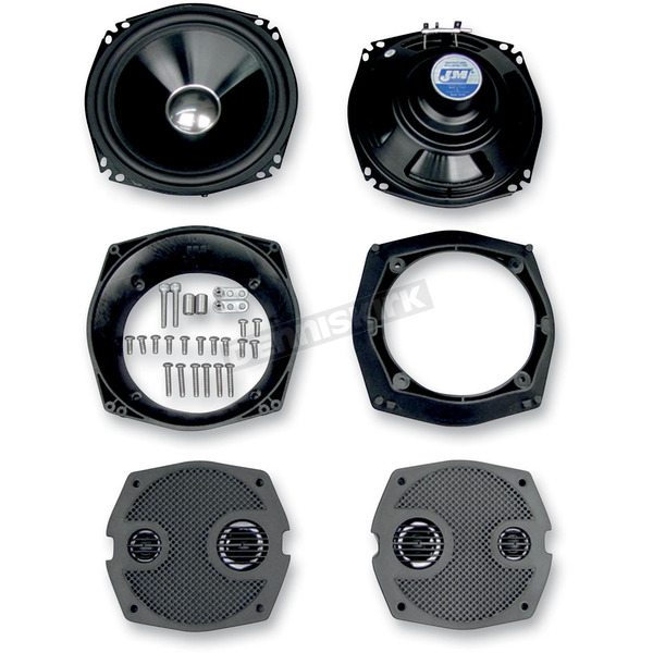 J&M Corporation 7 1/4 in. High-Performance Upgraded Fairing Speakers - HCSK-7252GTM
