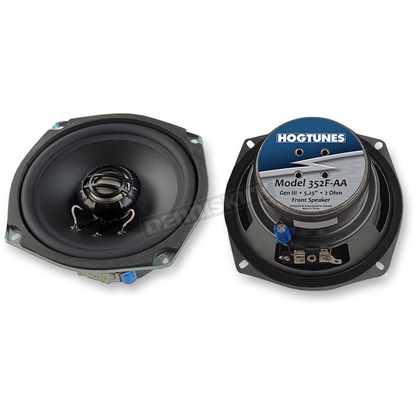 Hogtunes Generation 3 5-1/4 in. Front Replacement 2 OHM Speakers - 352F-AA