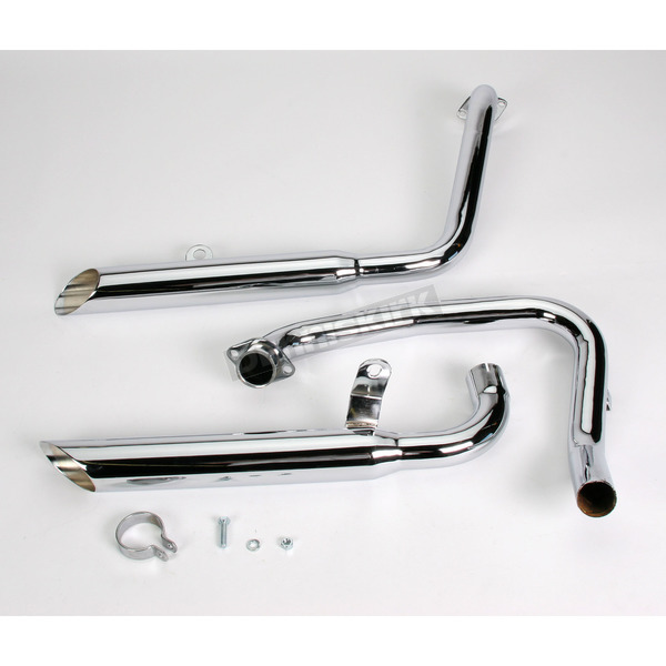 Mac Staggered Slash-Cut Tips Exhaust System - 001-3314