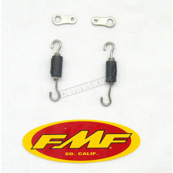 FMF TI-4 Repl. Spring and Clips - 040186