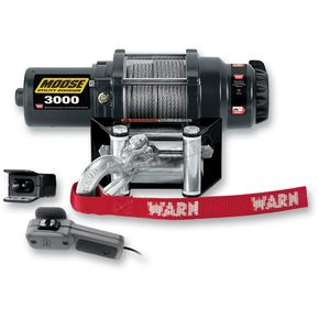 Moose 3000LB Winch with Wire Rope - 4505-0481